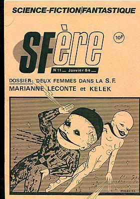 SFère n° 11 : deux femmes dans la S.F., Marianne Leconte et Kelek
