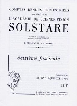 Solstare n° 16