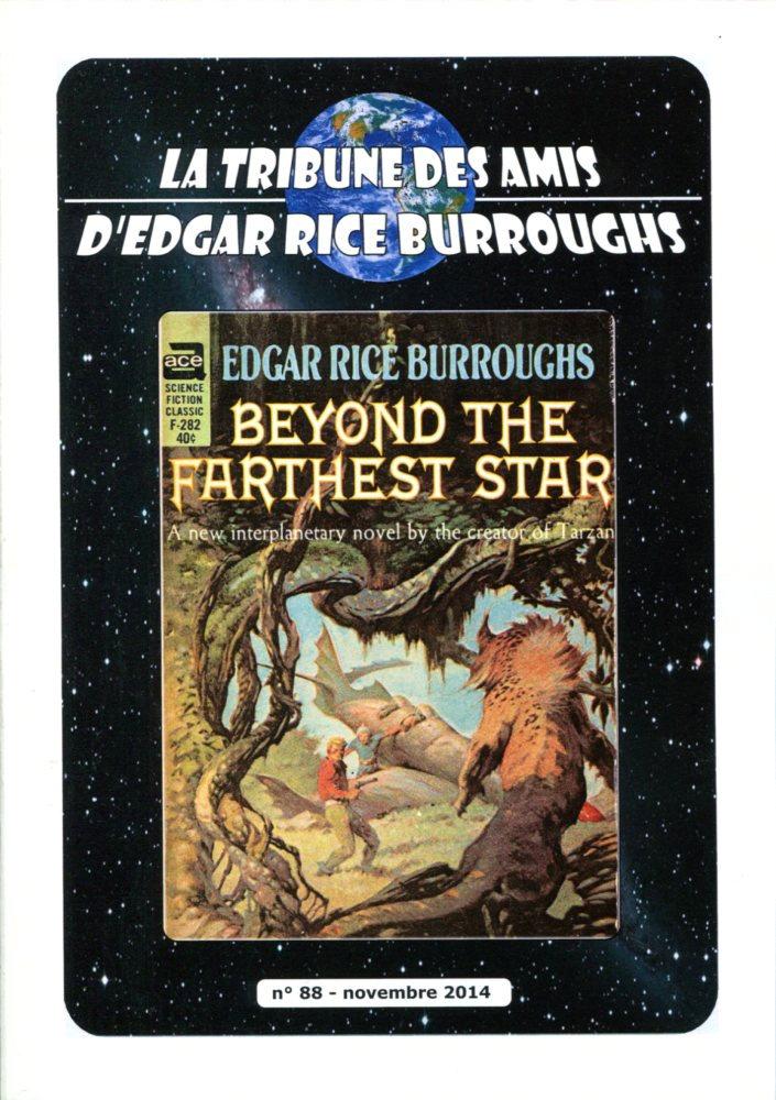 La Tribune des Amis d'Edgar Rice Burroughs n° 88