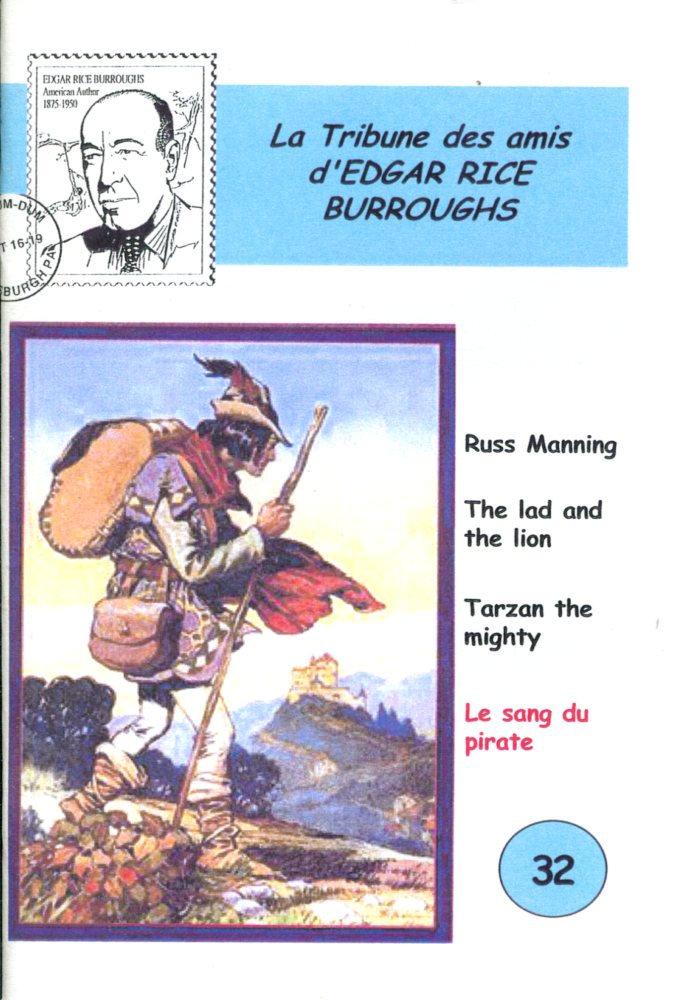 La Tribune des Amis d'Edgar Rice Burroughs n° 32