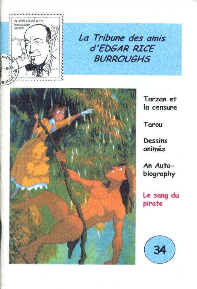 La Tribune des Amis d'Edgar Rice Burroughs n° 34