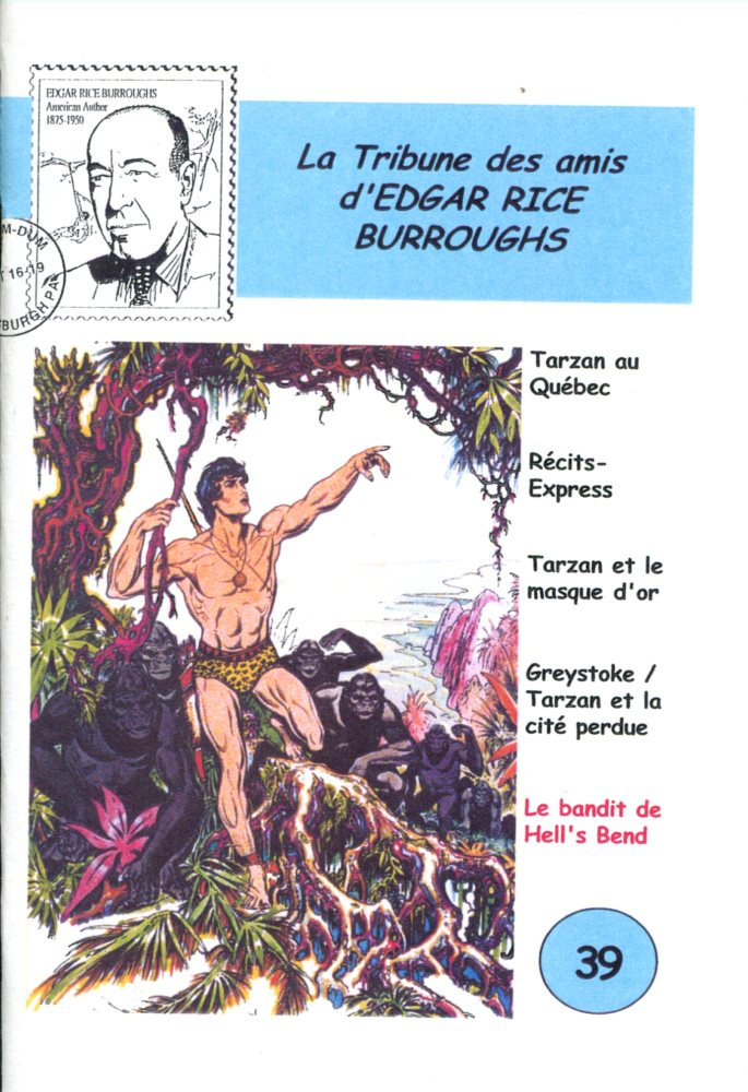 La Tribune des Amis d'Edgar Rice Burroughs n° 39