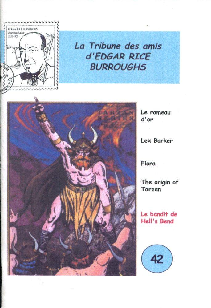 La Tribune des Amis d'Edgar Rice Burroughs n° 42