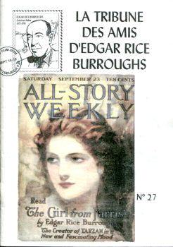 La Tribune des Amis d'Edgar Rice Burroughs n° 27