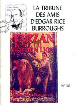 La Tribune des Amis d'Edgar Rice Burroughs n° 30