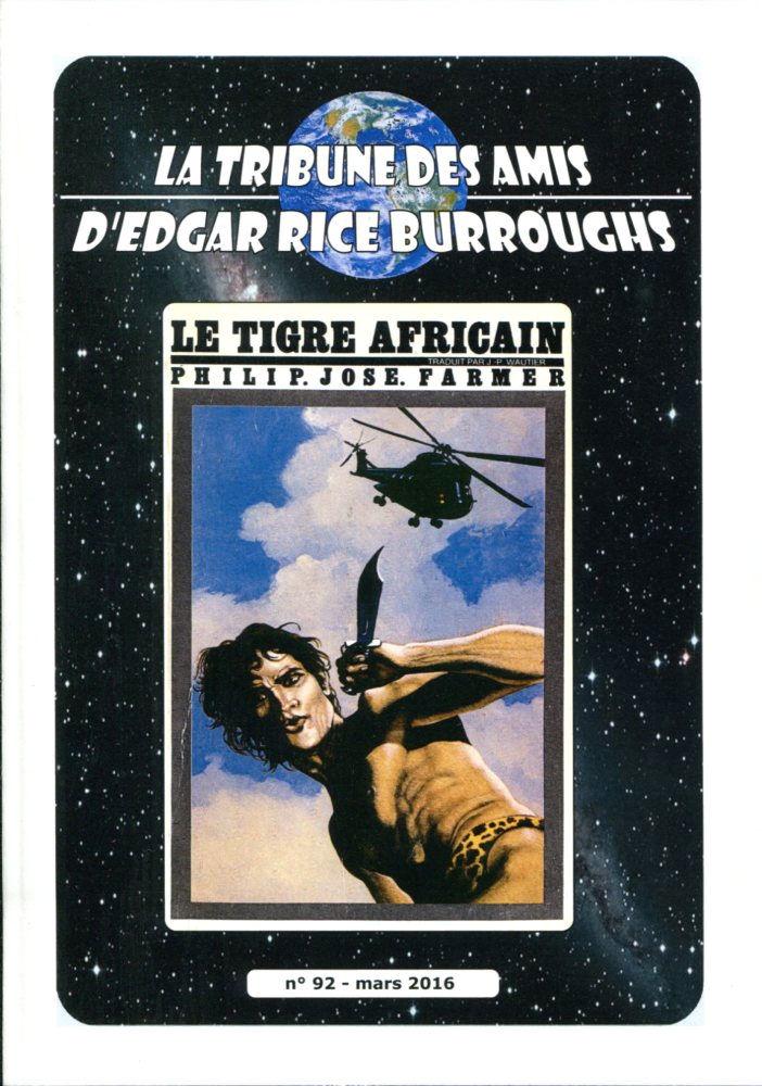 La Tribune des Amis d'Edgar Rice Burroughs n° 92