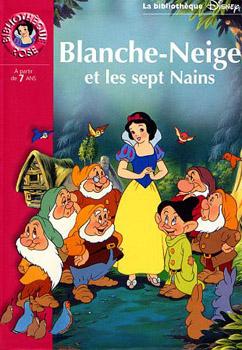 Blanche Neige Et Les Sept Nains Walt Disney Fiche Livre