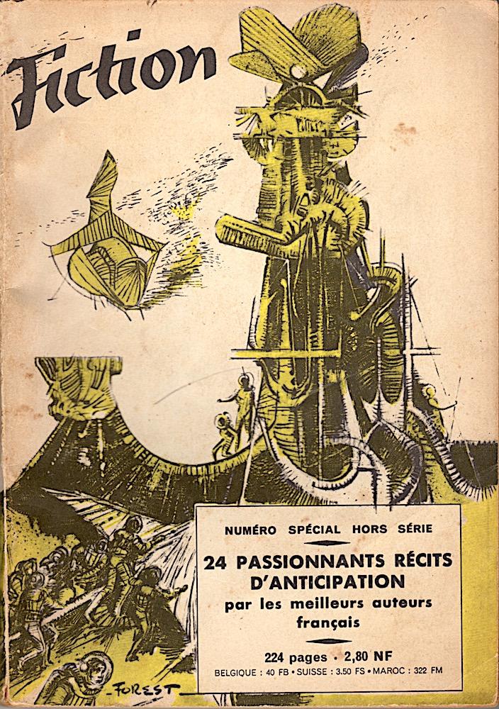 Fiction spécial n° 2 : De passionnants récits d'anticipation par les meilleurs auteurs français