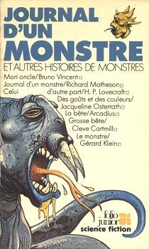 Journal d'un monstre et autres histoires de monstres