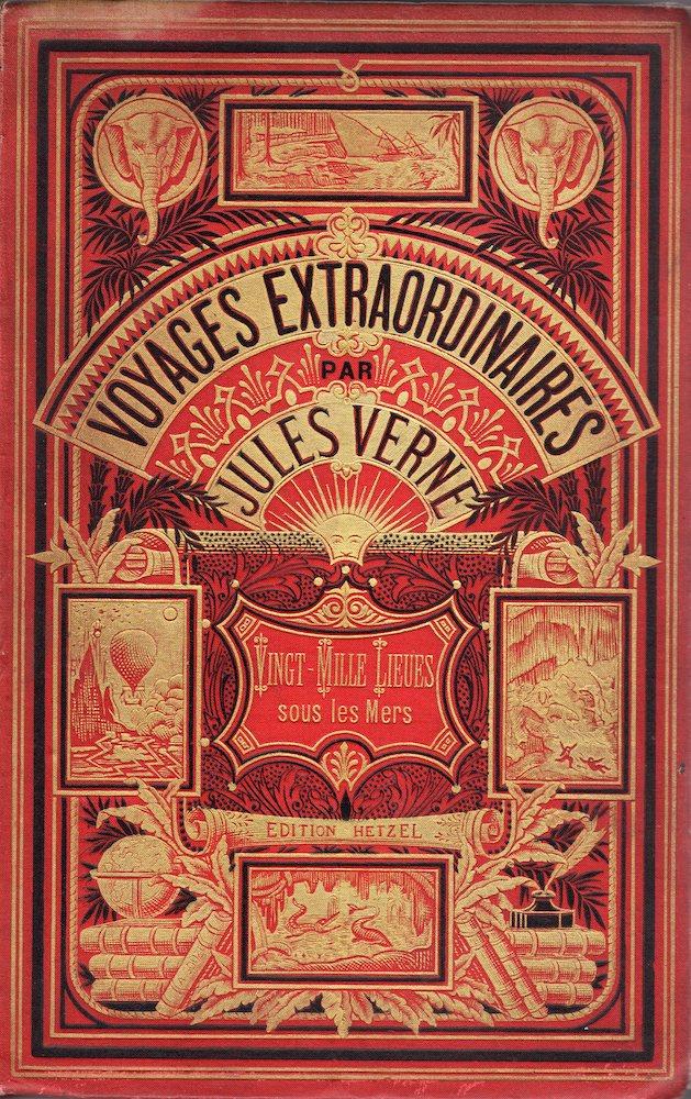 Vingt Mille Lieues Sous Les Mers Jules Verne Fiche Livre