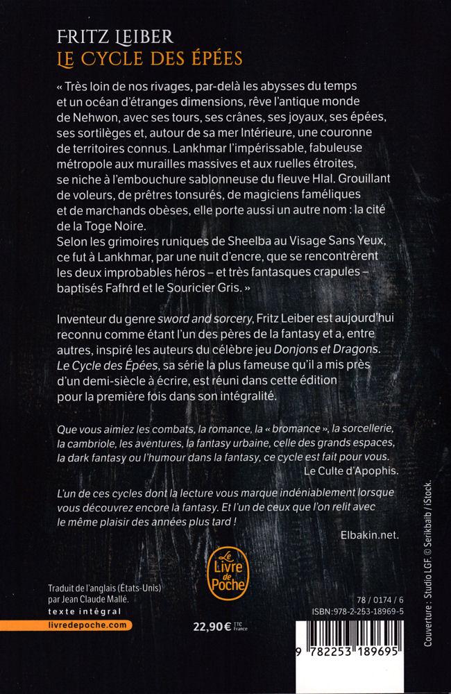 Le Cycle Des Epees Integrale Fritz Leiber Fiche Livre