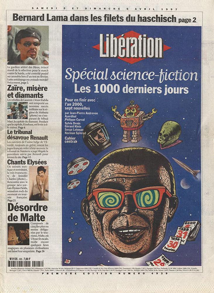 Libération spécial Science-Fiction - 5 et 6 avril 1997