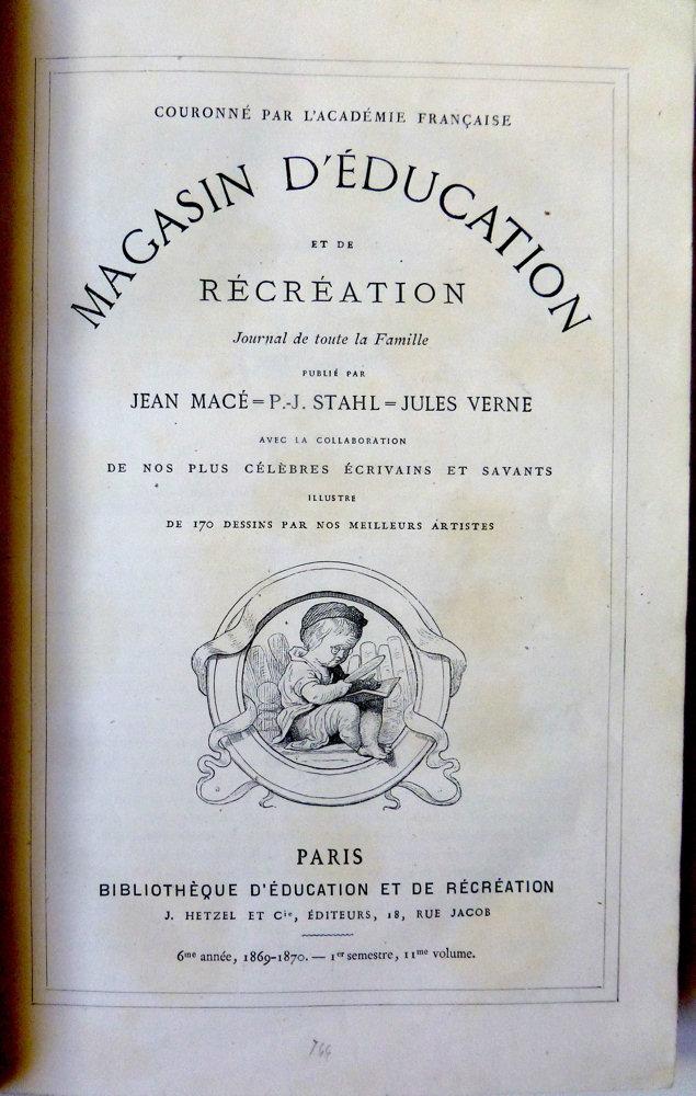 Magasin d'éducation et de récréation n° 11