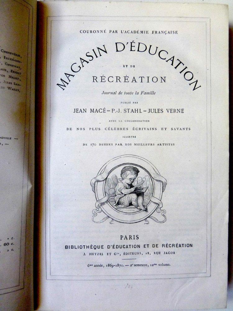 Magasin d'éducation et de récréation n° 12
