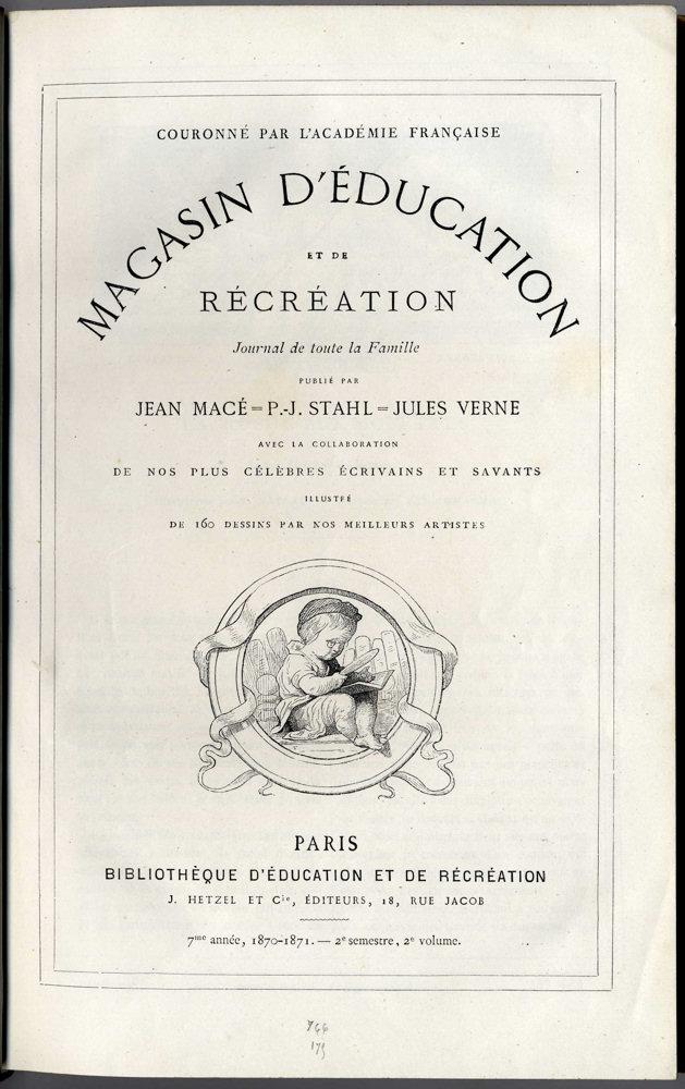 Magasin d'éducation et de récréation n° 14