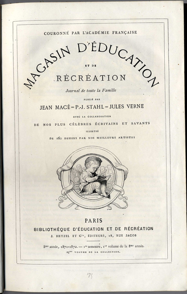 Magasin d'éducation et de récréation n° 15