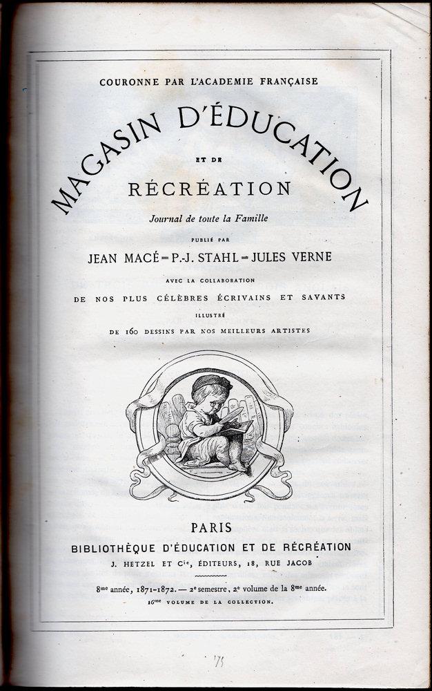 Magasin d'éducation et de récréation n° 16