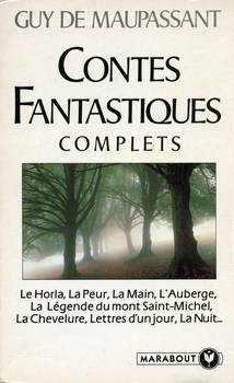 Contes Fantastiques Complets Guy De Maupassant Fiche