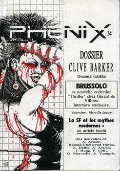 Phénix n° 34 : Clive Barker
