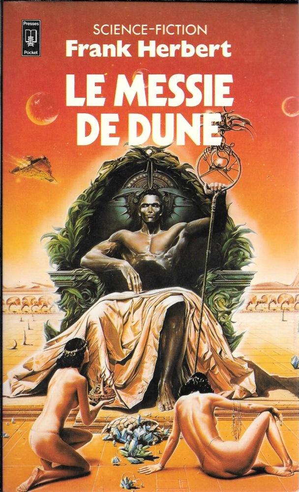 Couverture de Dune ; le messie de dune