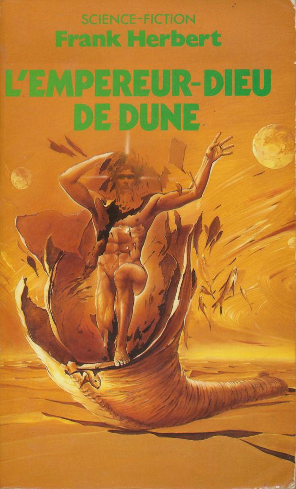 Couverture de L 'empereur-dieu de dune