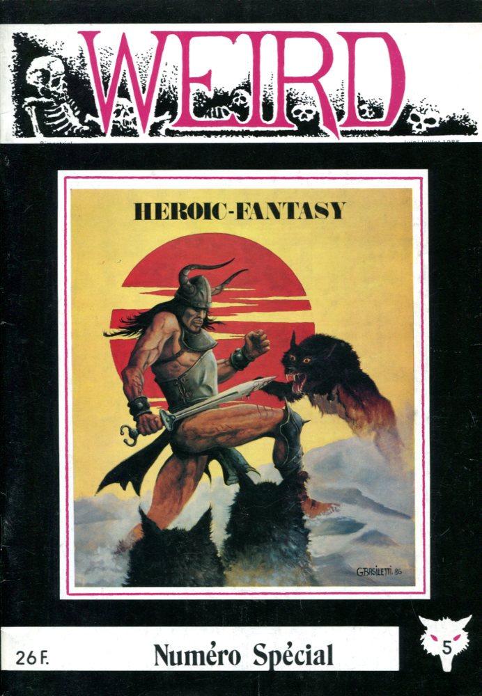 Weird N 5 Special Heroic Fantasy Revue Fiche Livre