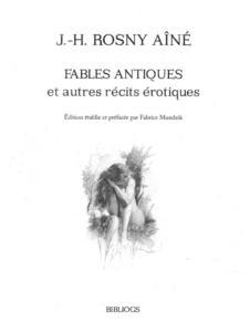 Fables Antiques et autres récits érotiques