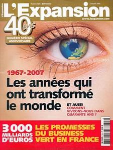 L'Expansion n° 723 - octobre 2007