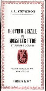 Docteur Jekyll et Monsieur Hyde et autres contes