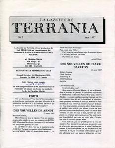La Gazette de Terrania n° 3