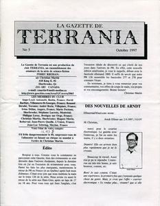 La Gazette de Terrania n° 5