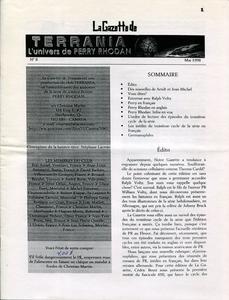 La Gazette de Terrania n° 8