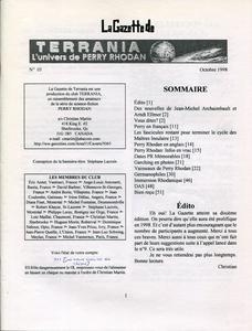 La Gazette de Terrania n° 10