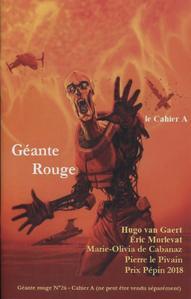 Géante Rouge n° 26 - Cahier A