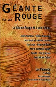 Géante Rouge n° 28 : Le Géante Rouge de Lucie Chenu