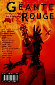 Géante Rouge Hors-série 2018