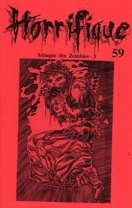 Horrifique n° 59 : Spécial Attaque des zombies - 3