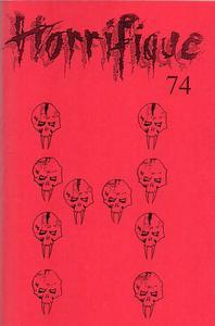 Horrifique n° 74 : spécial Recueil de bandes dessinées