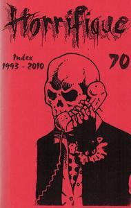 Horrifique n° 70 : Index 1993-2010