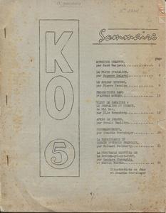 K.O. n° 5
