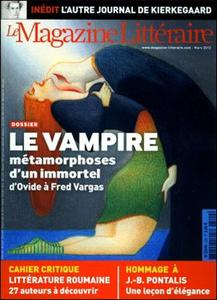 Le Magazine Littéraire n° 529 - Le Vampire : métamorphoses d'un immortel d'Ovide à Fred Vargas
