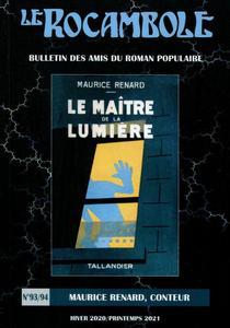 Le Rocambole n° 93/94 : Maurice Renard, conteur