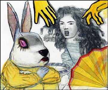 Alice au pays des merveilles / De l'autre côté du miroir et ce qu'Alice y trouva