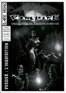 Vampire Dark News n° 3 : L'Inquisition