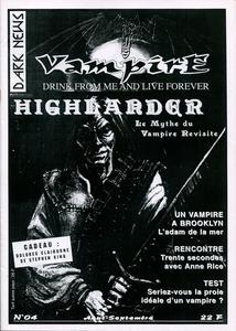 Vampire Dark News n° 4 : Highlander