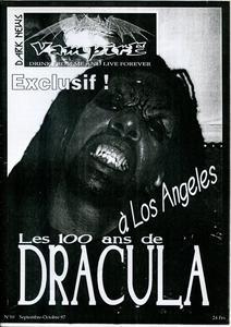 Vampire Dark News n° 10 : Les 100 ans de Dracula à Los Angeles