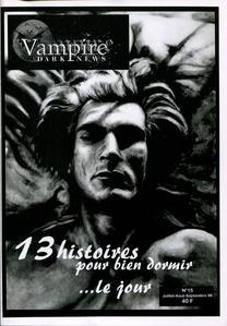 Vampire Dark News n° 15 : 13 histoires pour bien dormir... le jour